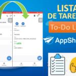 Crear APP de LISTA de Tareas (To-Do LIST) en APPSHEET. Crea Apps a partir de Google Sheets.